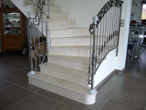 escalier 1 escalier marbre. Black Bedroom Furniture Sets. Home Design Ideas